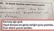 Bir Öğrencinin Türkçe Sınavında 'Hayaliniz Nedir?' Sorusuna Verdiği Herkesin İçini Acıtan Cevabı