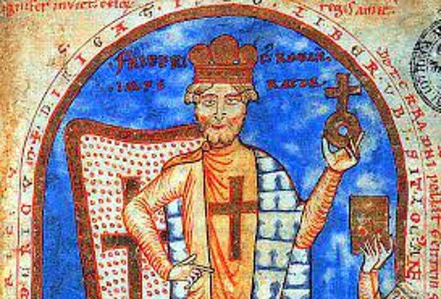 16. Kutsal Roma İmparatoru I. Frederic boğularak ölmüştür çünkü zırhıyla yüzmeye çalışmıştır.