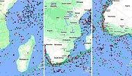 Yüzlerce Gemi Sırada Bekliyor: İşte Süveyş Kanalı'nda Oluşan Gemi Trafiği