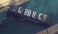 Süveyş Kanalı'nı Tıkayan Ever Given Gemisi Kurtarıldı