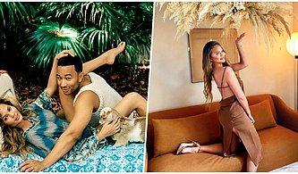 Chrissy Teigen Eşi John Legend ile Cinsel İlişkiye Girdikleri En Garip Yeri İtiraf Ederek Herkesi Dumur Etti