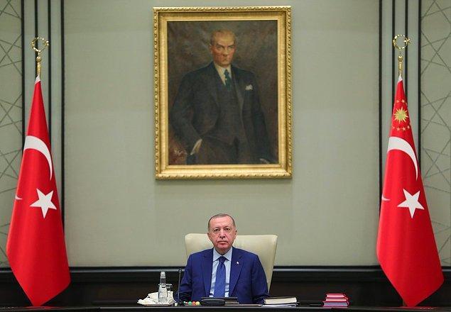 Cumhurbaşkanı Erdoğan'ın başkanlığında gerçekleşen toplantıda Sağlık Bakanı Fahrettin Koca da sunum yapacak.