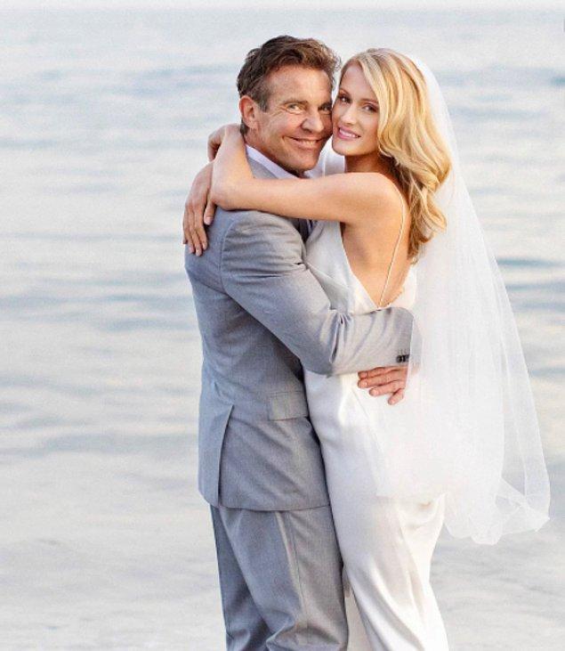 Aktör Dennis Quaid ve eşi Laura Savoie arasındaki yaş farkı 39, doğal olarak çok fazla eleştiriye maruz kaldılar. Ancak bu çiftin mutluluğunu etkilemedi.