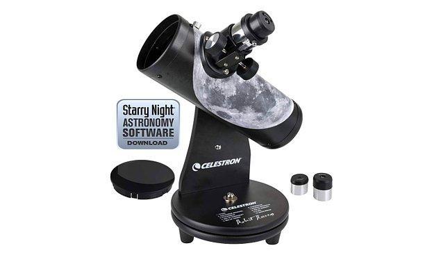 6. Gökyüzüne merakınız varsa evinizde bir teleskopunuz olmalı.
