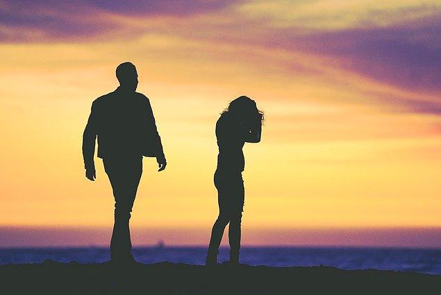 7. İlişkiniz yüzeyseldir.