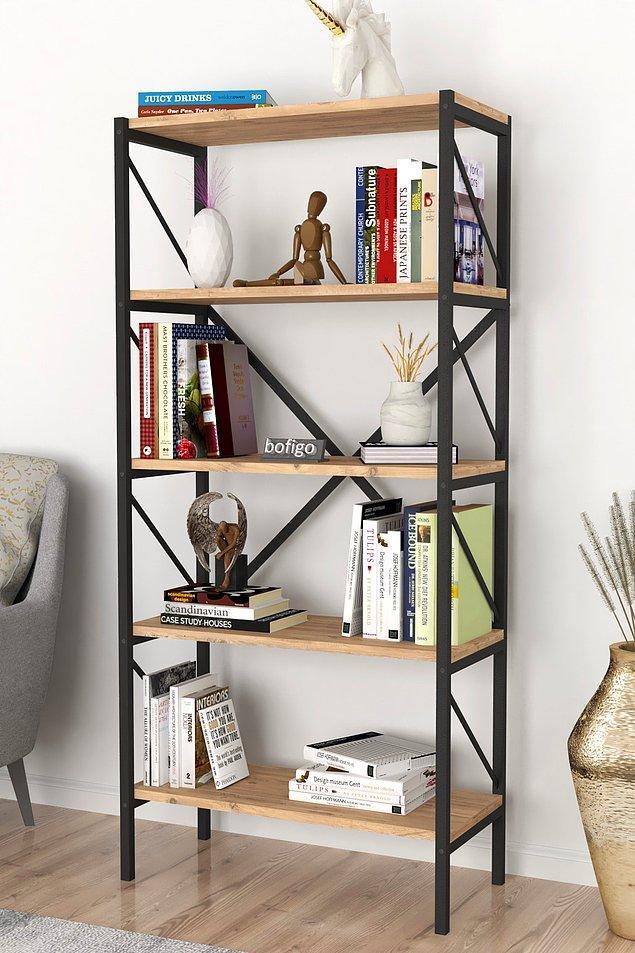 7. Evinizin en güzel köşesinde bir kitaplığınız olsun.