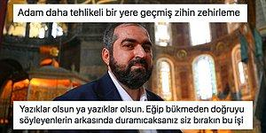 Görevini Bırakan Ayasofya İmamı Mehmet Boynukalın'ın Ardından Yapılan Yorumlar