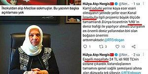 AKP Milletvekili Hülya Atçı Nergis'in Demet Akalın'ı Aratmayan Türkçesi İnsanların Gözlerini Kanattı