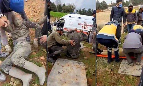 'İş Kazasında Yaralanan İşçinin Kıyafetleri Ambulans Kirlenmesin Diye Çıkarıldı' 1