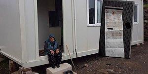 Konteynerde Kalan 93 Yaşındaki Depremzedenin Elektriğini Kestiler: 'Bu Yapılan Reva mıdır?'