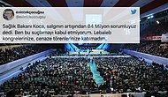 Koca'nın '84 Milyon Suçlu' Sözüne Tepkiler Gecikmedi: 'Maskemi Taktım, Lebalep Kongrelerinize Katılmadım'