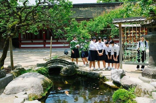 1. Japon çocuklar 4. sınıfa gelene kadar sınava girmezler.