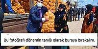 İnsani Yardım 'Şova' Döndü: Hilvan Kaymakamı'nın Patates Çuvalı Pozu Sosyal Medyanın Gündeminde