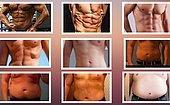 Favori Erkek Vücut Şeklini Seç, Ne Kadar Flörtöz Olduğunu Söyleyelim!