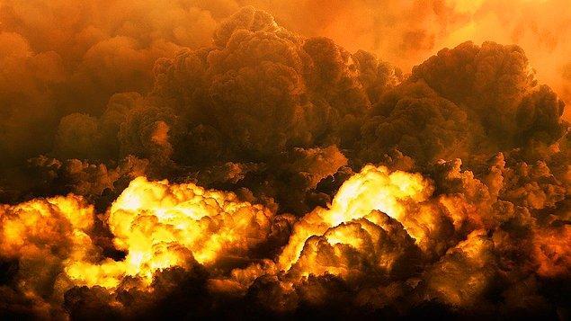 6. Başka bir gezegenin çarpması