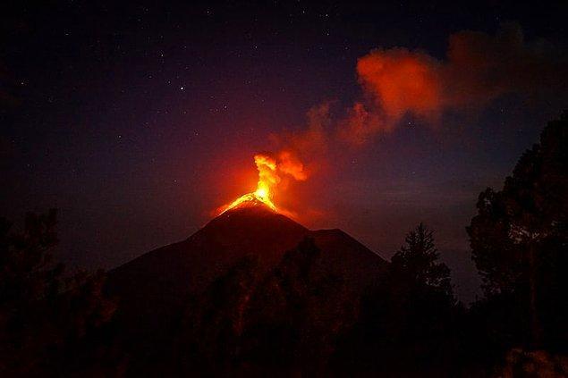 11. Süper yanardağ