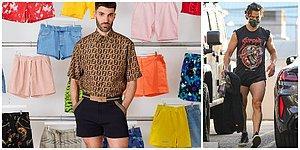 Erkeklerde Mini Şort Modası mı Geliyor? Sosyal Medyayı Sallayan İlginç Moda Trendi