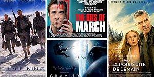 George Clooney'nin Başrolde Olduğu ve Dünya Sinemasına Damga Vurmuş En Başarılı Filmler