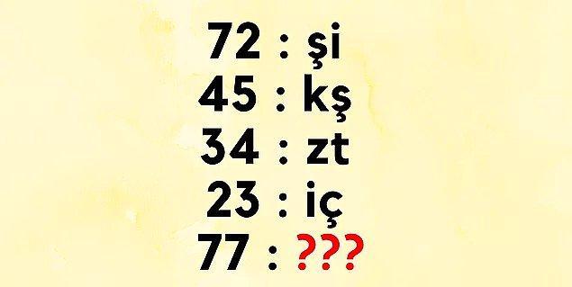 5. Imm... Bu sorunun cevabı nedir?