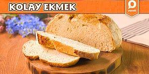 Kolayca Hazırlanan Hamuruyla Zahmetsiz Ekmek Tarifi Nasıl Yapılır?