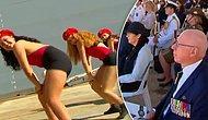Askeri Geminin Hizmete Giriş Töreninde Twerk Yapan Kadınların Dans Gösterisinin Yansıtılma Şekli Tepki Çekti