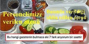 Bir Devlet Hastanesi'nin Sağlıkçılara Verdikleri Yemekle İlgili Fıkrayı Aratmayacak Açıklaması ve Tepkiler