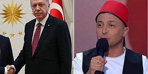 Ukrayna Devlet Başkanı, Komedyen Olduğu Bir Dönemde Erdoğan'a Hakaret Etmiş: 'Erdoğan, Bıyıklı Hamamböceğidir'