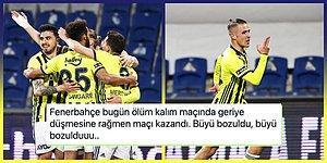 Kanarya'dan Zirve İçin Kritik Galibiyet! Fenerbahçe, Başakşehir'i Geriye Düşmesine Rağmen Devirdi