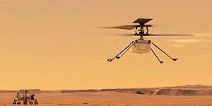Geri Sayım Başladı: NASA Mars'taki Helikopterini İlk Kez Uçurmayı Deneyecek