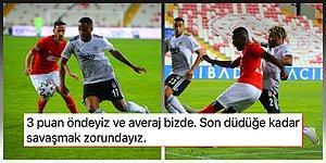 Kartal'ın Kredisi Bitti! Beşiktaş Zorlu Sivas Deplasmanında 1 Puana Razı Oldu