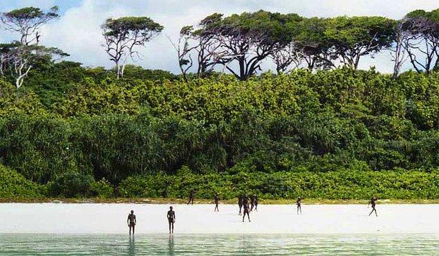 4. Kuzey Sentinel Adası, Hindistan