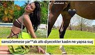 Atın Cinsel Organını Kalp Emojisi ile Kapatan Bella Hayriye Hadid Mizahşör Takipçilerinin Diline Düştü!