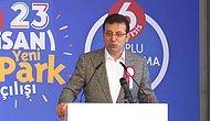 Ekrem İmamoğlu'nun 23 Nisan'da 23 Park Açılışını Duyururken Dili Sürçtü: '128' Dedi
