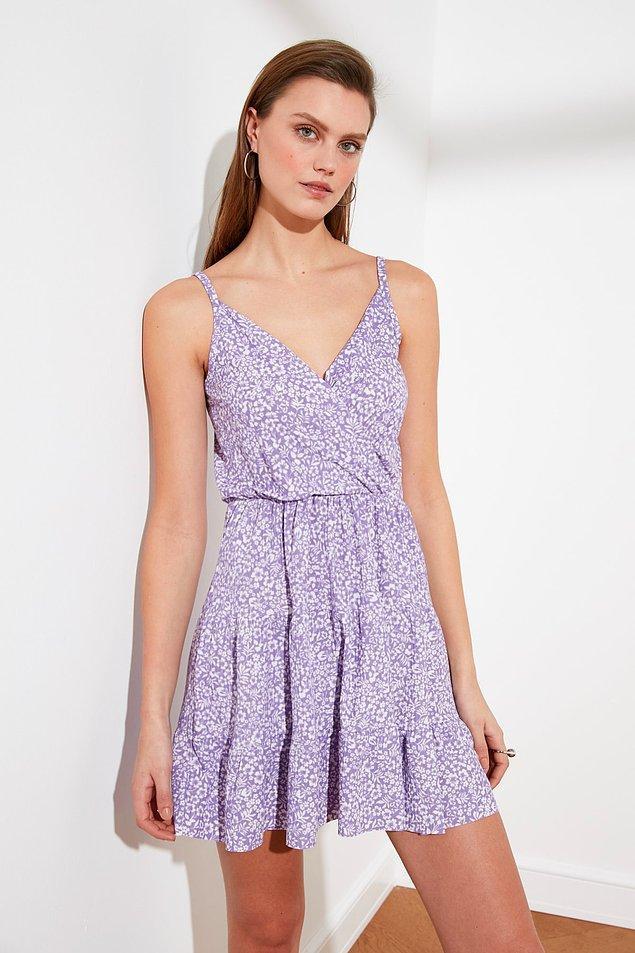 7. Bu elbise üzerinizdeyken bir kulübe gittiğinizi ve dans ettiğinizi düşünün.