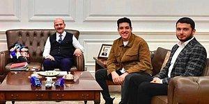 Thodex'in Kurucusu Faruk Fatih Özer'in Çavuşoğlu'ndan Sonra Soylu'yla da Fotoğrafı Çıktı