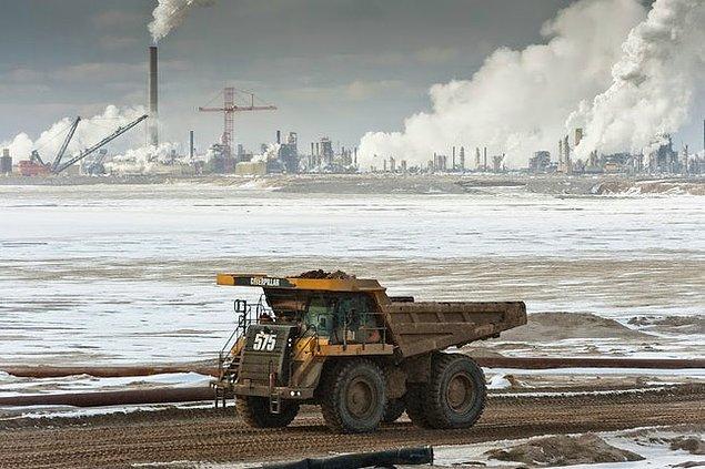 15. Alberta, Kanada: Katran kumları.