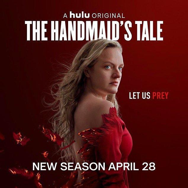 8. The Handmaid's Tale'in yeni sezonundan bir poster yayınlandı.