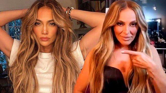6. Ziynet Sali, Jennifer Lopez'i taklit ettiği iddiasına yanıt verdi.