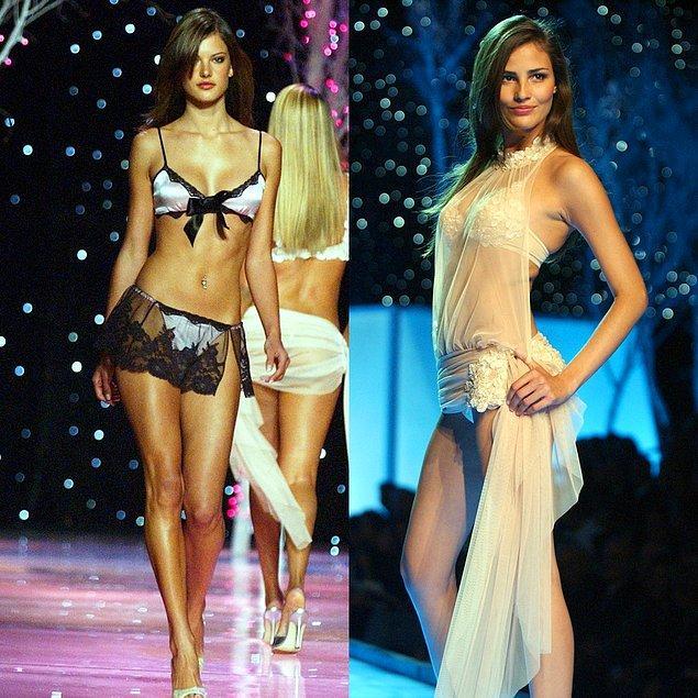 7. 2001 - Alessandra Ambrosio ve Fernanda Tavares
