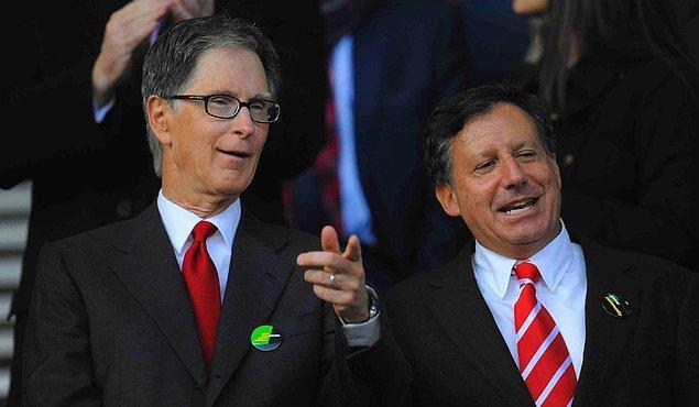 3. Fenway Sports Group, Liverpool'un sahibi durumunda. Şirketin kurucuları John W. Henry ve Thomas C. Werner de Liverpool'un sahipleri oluyorlar bu durumda.