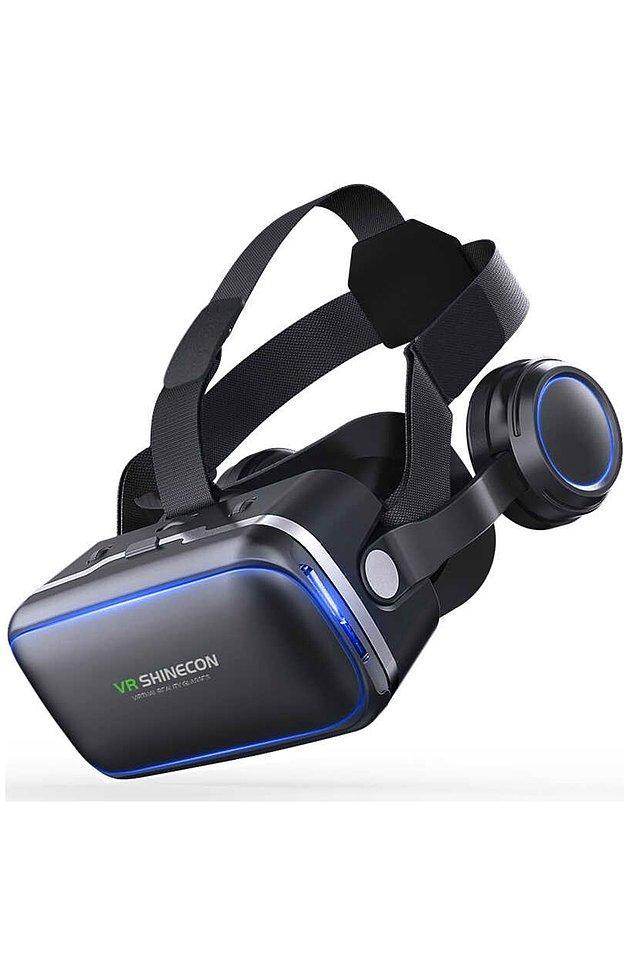 17. VR Shinecon Shinecon 3D Sanal Gerçeklik Gözlüğü