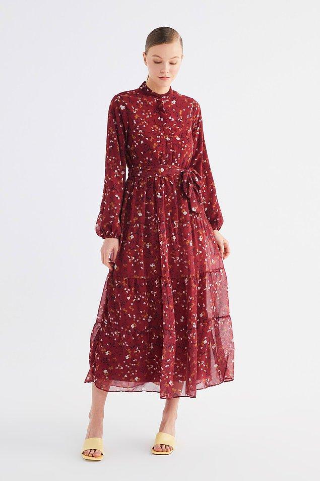 2. Bu elbise de eminim Safiye'ye hem model hem de renk olarak çok yakışırdı...