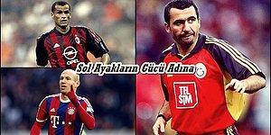 Avrupa Futbol Tarihinin Gelmiş Geçmiş En Yetenekli 10 Solak Oyuncusu