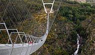 516 Metre Uzunluğunda: Portekiz'de Dünyanın En Uzun Asma Yaya Köprüsü Kullanıma Açılıyor