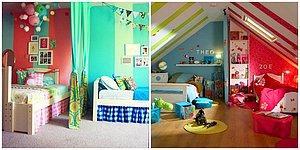 Aynı Odayı Paylaşmak Zorunda Kalan Kız ve Erkek Çocuğunuzun Bayılacağı 14 Dekorasyon Önerisi