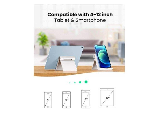 8. Toplantılarınıza telefon ve tabletten bağlanıyorsanız bu standa ihtiyacınız var.