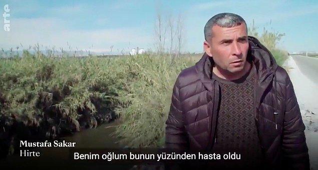 Adanalı çoban Mustafa Sakar'ın anlattıkları problemin ne boyutta olduğunu gösteriyor bizlere. Sakar, çöplerin biriktirildiği kanalın etrafında önceleri hayvanlarını otlatabildiğini fakat artan kirlilikten dolayı artık bunun mümkün olmadığını söylüyor.