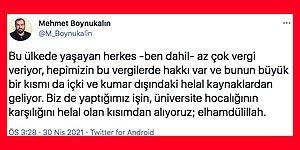Mehmet Boynukalın'a Soru: Vergilerin 'Haram' Olan Kısmından Kimlerin Maaşı Ödeniyor?