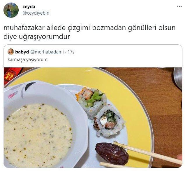 10. İftarda sushi?