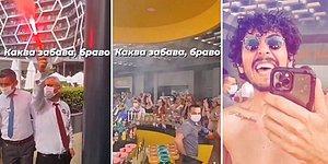 Antalya, Manavgat'ta Bir Otelde Eğlenen Yüzlerce İnsanın Tepki Çeken Görüntüleri